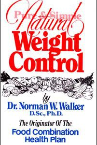 natural weight control book by dr norman walker